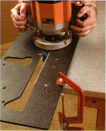 have cutting kitchen worktops with a router the