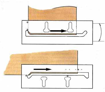 Templates for cutting worktops for Kitchen worktop cutting template